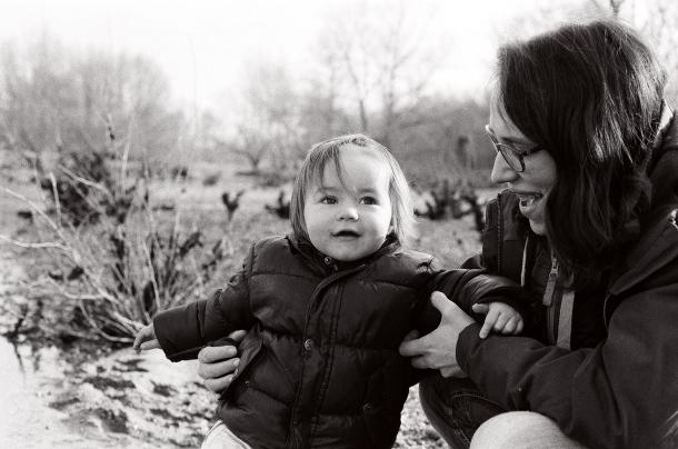 Lucie 16 mois - Canon EOS 100 - Ilford HP5+ 400