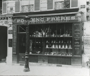 Poulenc frères 11 rue de Cluny 1886