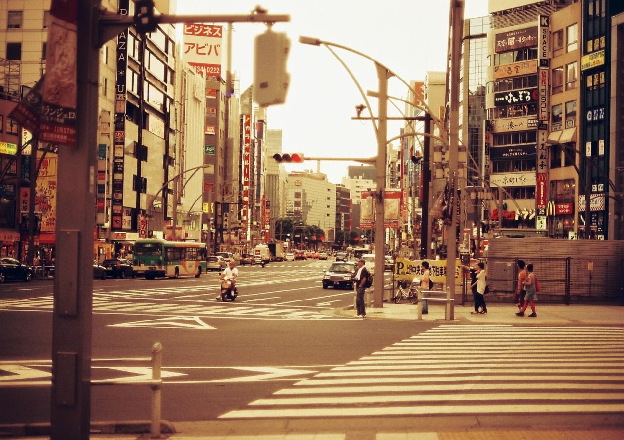 Tokyo Ueno - Redscale Maison