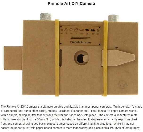 Art DIY Camera