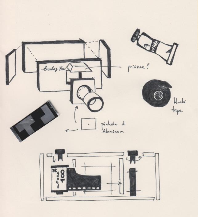 pinhole DIY plan de bataille