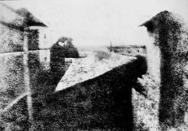 Première photo de Nièpce à Legras