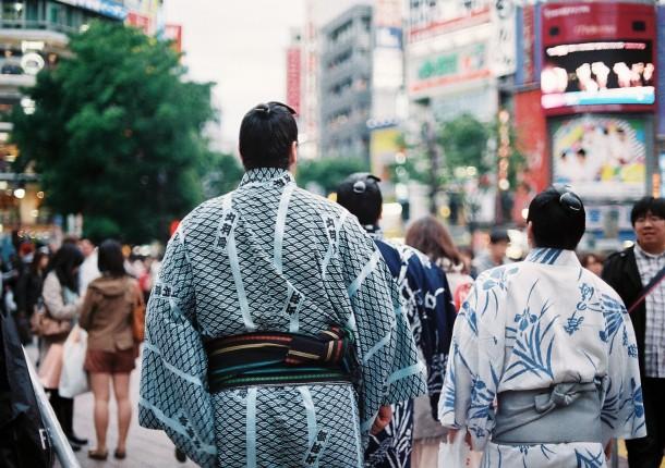 Shibuya Tokyo - Kodak Portra 800