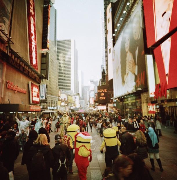 Times Square (LC-A 120 Lomo X-Pro Slide 200 )