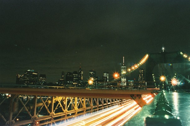 Broolyn Bridge - New York - Ciné 400 Tungsten