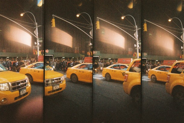 Yellow Taxi (Super Sampler Lomo 800)
