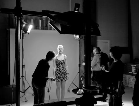 photo en studio