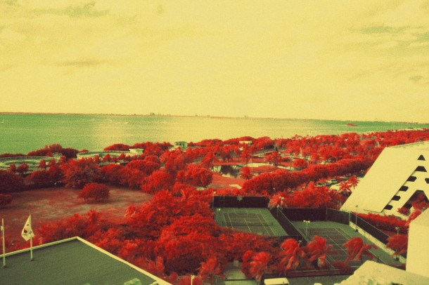 Cancun Mexique - Canon EF - InfraChrome FPP 400 iso - filtre rouge