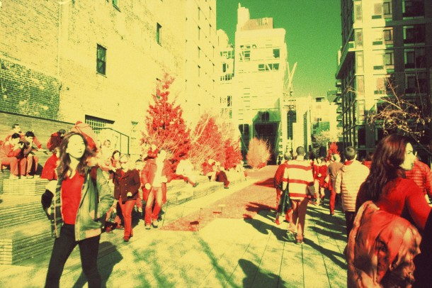 High Line NYC - Canon EF - InfraChrome FPP 400 iso - filtre rouge