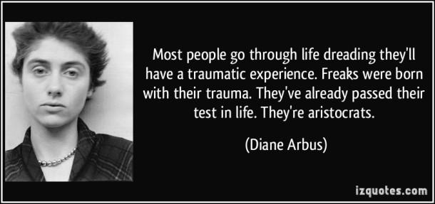 Diane Arbus Quote