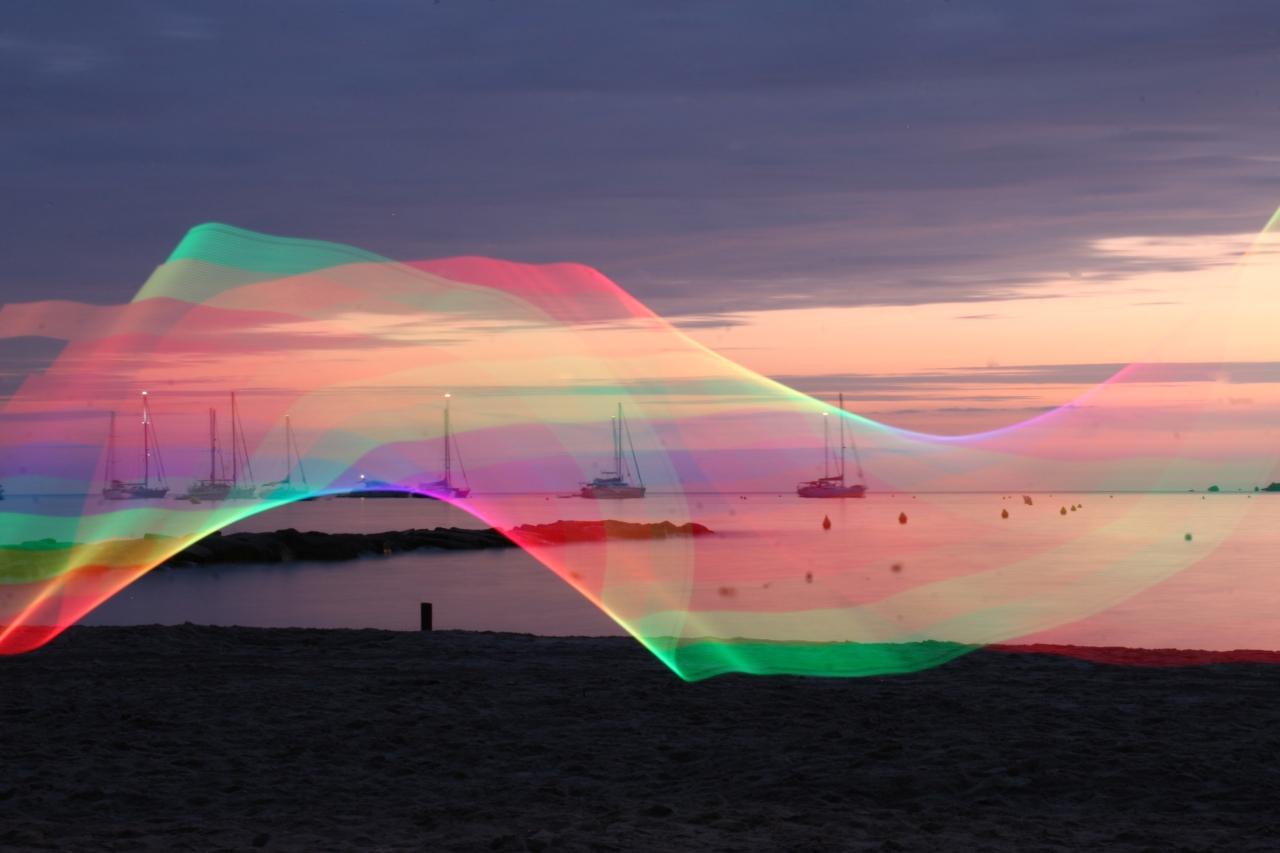 Calvi lever de soleil - Canon EOS 20D - pixelstick