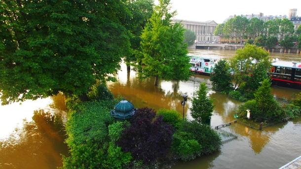 Le Pont Neuf - Inondation de Paris - Olympus OM-D E-M5