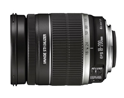 Canon EF-S 18 - 200 mm f3.5 - 5.6 IS
