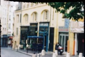 rue de la montagne Ste Geneviève - sténopé fait maison