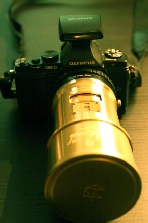 L'objectif Petzval sur un appareil micro 4/3(fr/en)