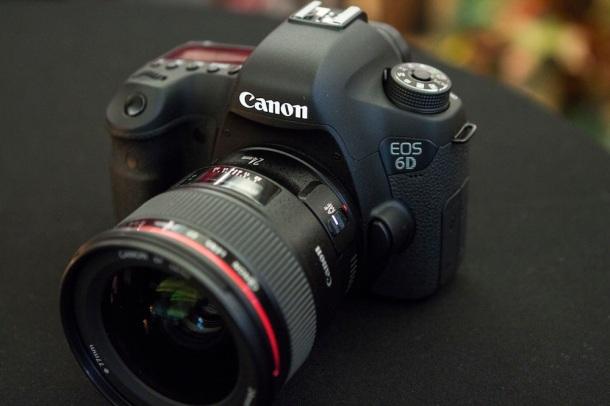 Canon 6D plein format