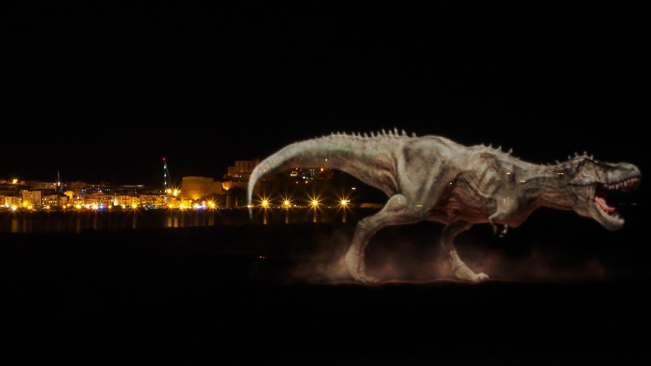 Jurassic Park in Corsica - Pixelstick