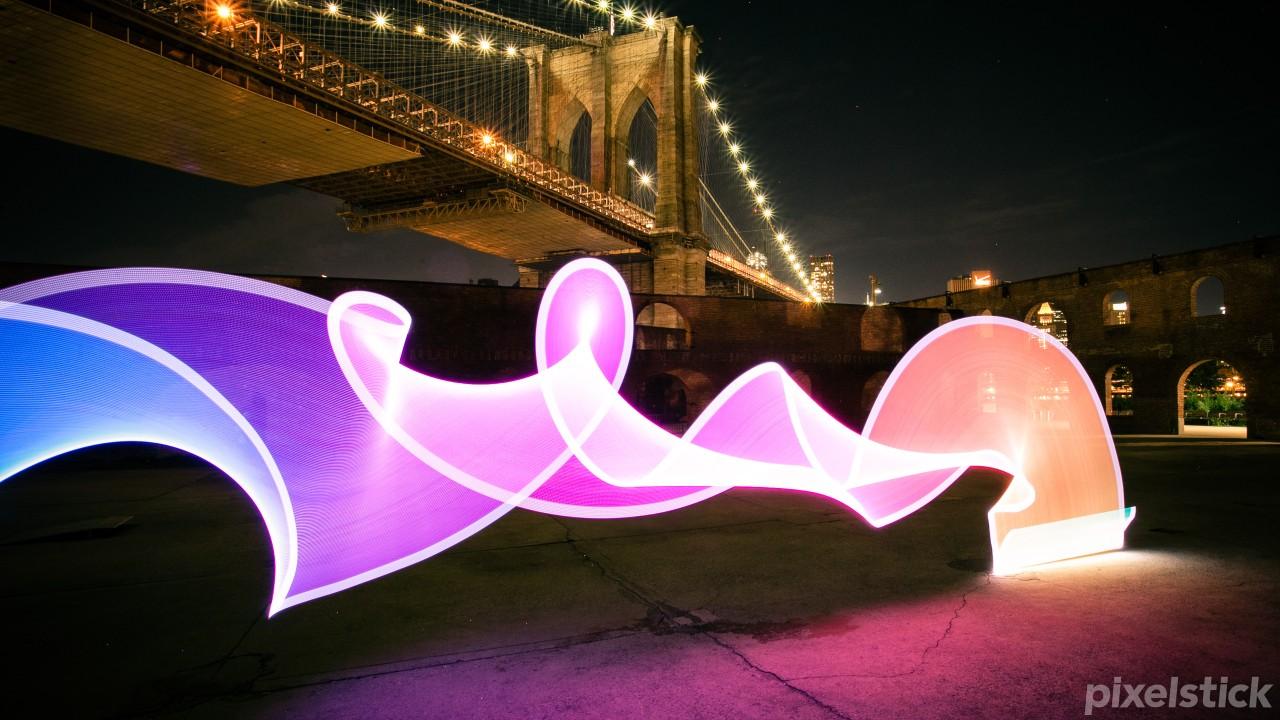 pixelstick Brooklyn