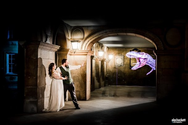 pixelstick wedding