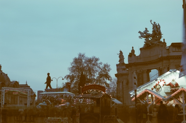 Marché de Noël - Canon A1 - Kono! Donau 6 iso