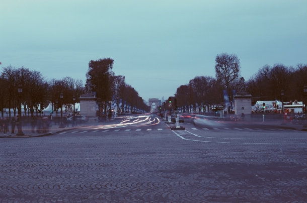 Place de la Concorde - Canon A1 - Kono! Donau 6 iso