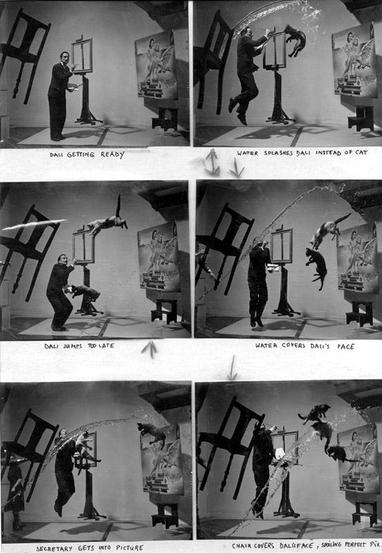 Dali Atomicus 1948 preparation