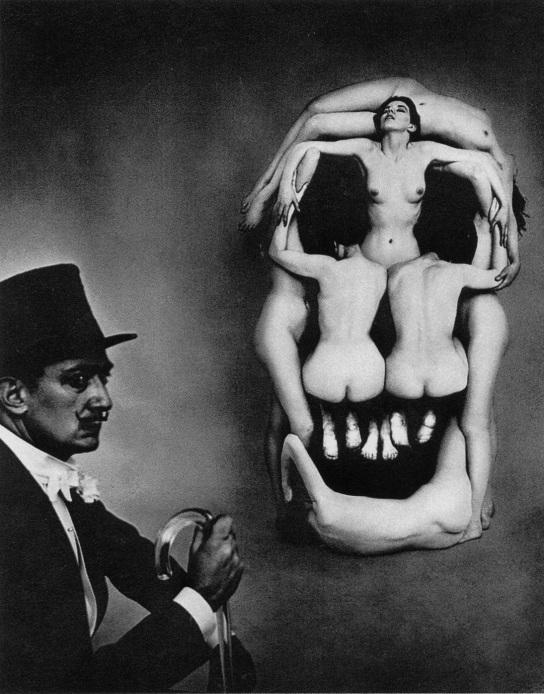Salvador Dali Skull