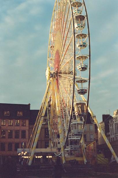 La grande roue Rouen - Film Washi X 400 iso