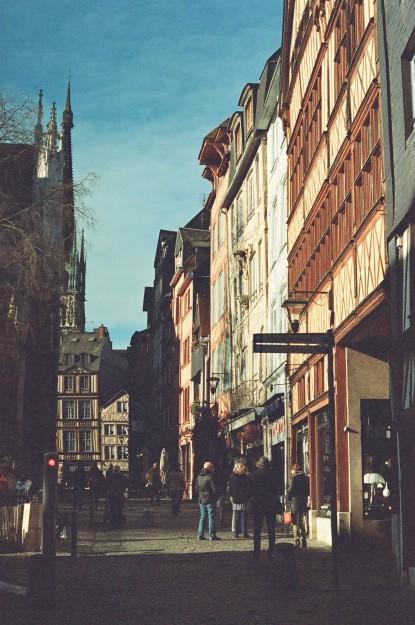 Rouen - Film Washi X 400 iso