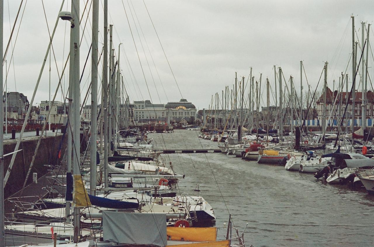 Deauville sous la tempête - Film Washi X 400 iso