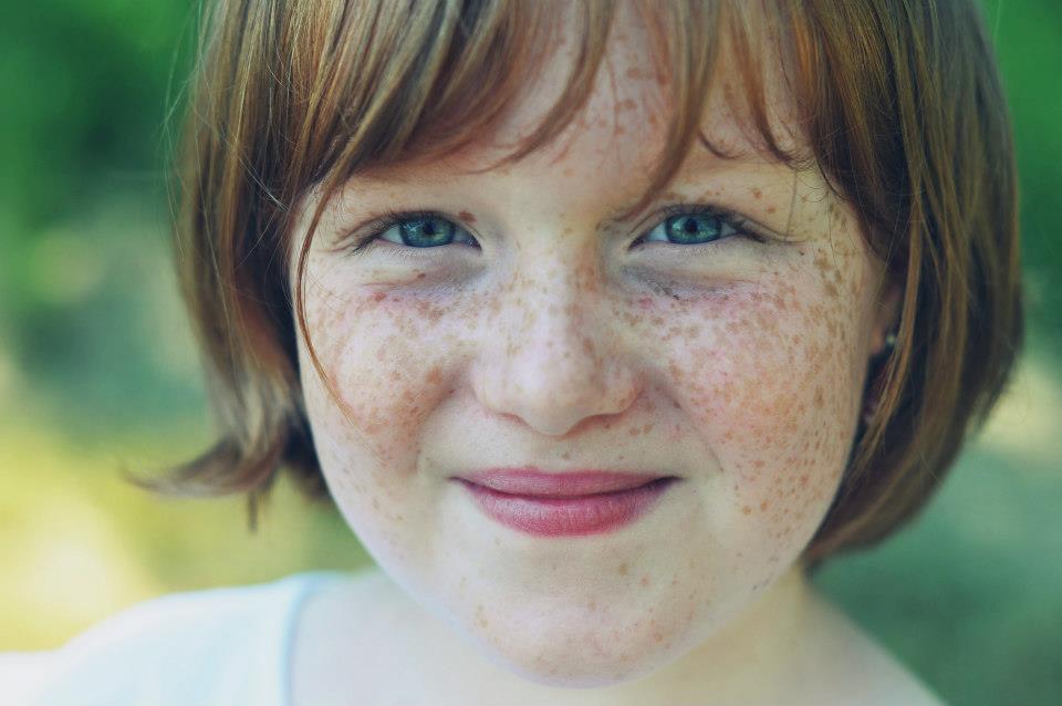 Portrait d'enfant par Anaïs Nannini