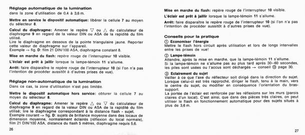 Notice Rollei 128 BC