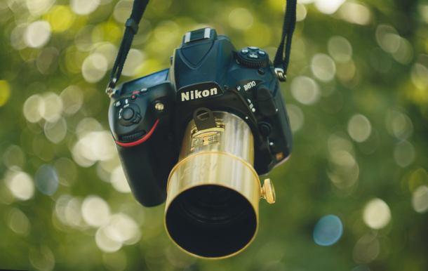 Le Nikon D810 et l'objectif Petzval qu'Anaïs affectionne particulièrement