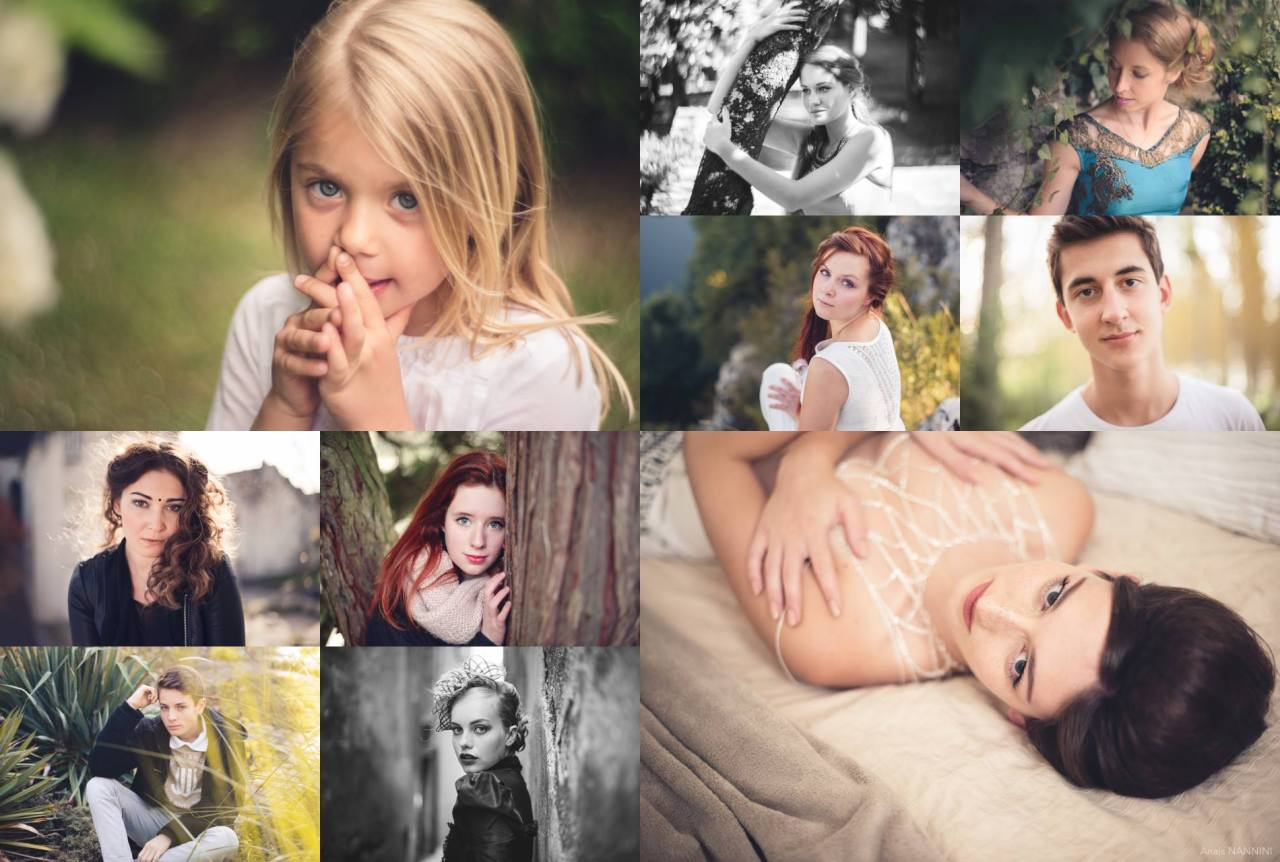 Portraits par Anaïs Nannini