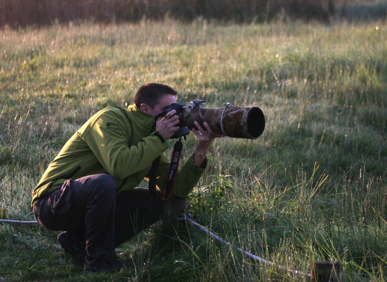 """Notre guide Alexander et son télé """"camouflage"""""""
