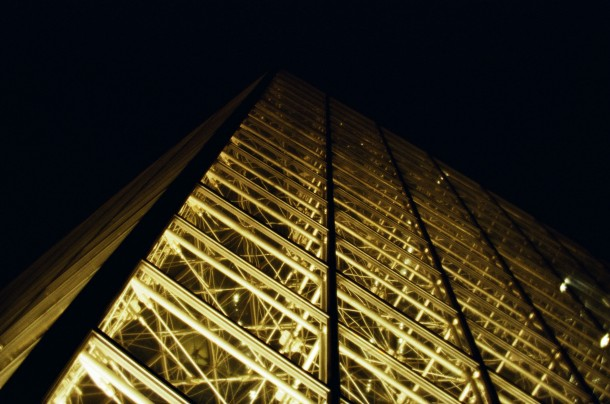 Le Louvre - Canon EOS 100 pellicule Lomo 400 iso - Daguerreotype Achromat f/16