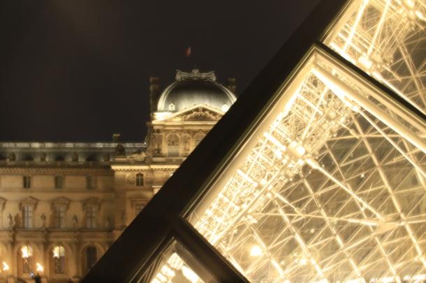 Le Louvre - Canon EOS 6D - Daguerreotype Achromat plaque croix