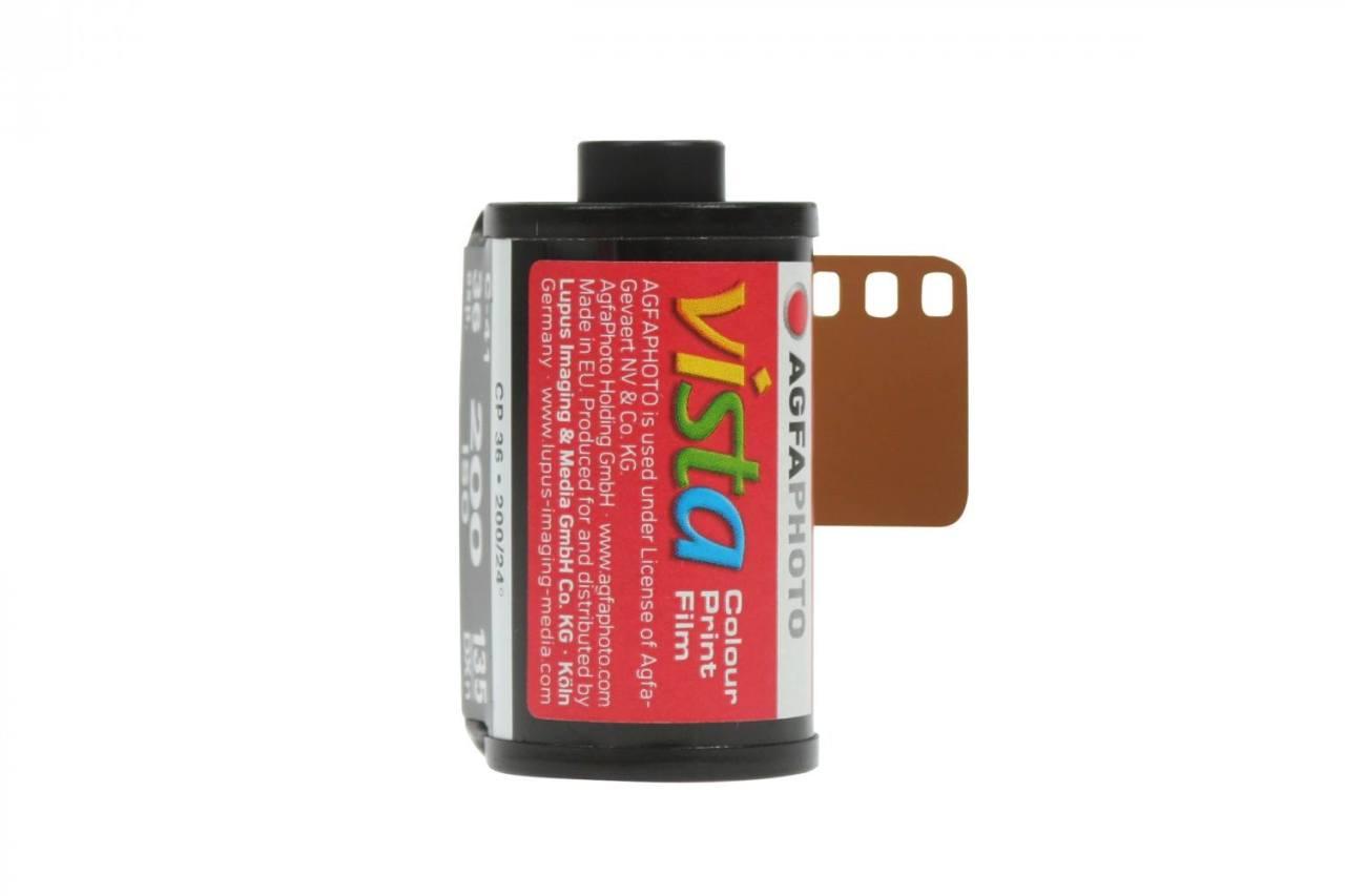 Au revoir pellicules Agfa Vista 200 et 400 iso (35mm)