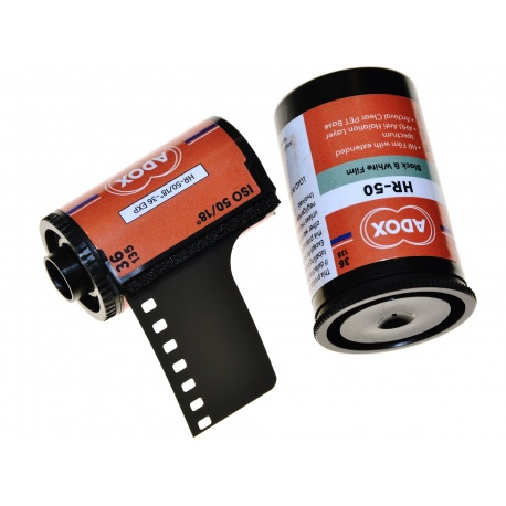 Pellicule Adox HR-50 noir et blanc 35mm